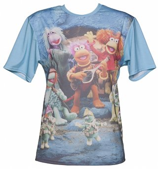 All Over Print Fraggle Rock T-Shirt