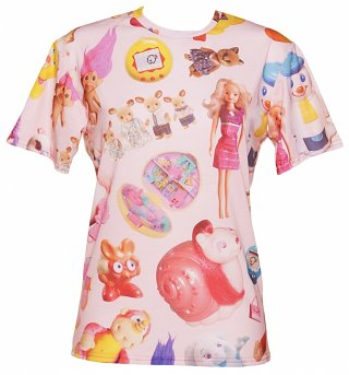 Unisex All Over Print Vintage Toys T-Shirt