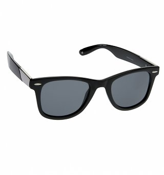 Black Winston Wayfarer Sunglasses from Jeepers Peepers