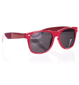 Bright Pink Teddy Wayfarer Sunglasses from Jeepers Peepers