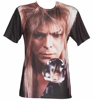 Unisex Crystal Ball Bowie Labyrinth T-Shirt
