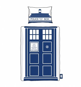 Doctor Who TARDIS Single Duvet Cover Set from BBC Worldwide