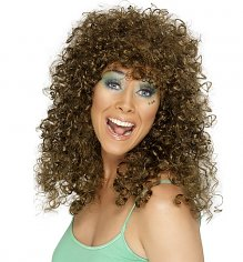 Eighties Spiral Perm Wig