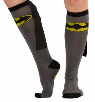 DC Comics Batman Caped Knee High Socks
