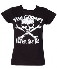 Ladies Goonies Never Say Die T-Shirt