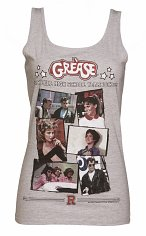 Ladies Grease Rydell High Yearbook Tank Vest