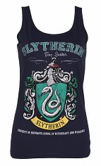 Women's Navy Harry Potter Slytherin Team Quidditch Vest
