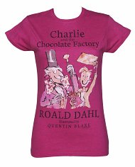 Women's Roald Dahl Charlie And The Chocolate Factory T-Shirt