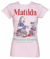 Ladies Roald Dahl Matilda T-Shirt