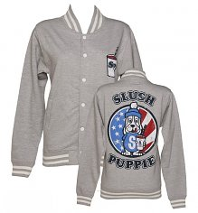Women's Slush Puppie US Flag Varsity Jacket