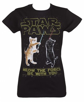 Women's Star Paws Parody T-Shirt