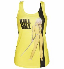 Ladies The Bride Kill Bill Tank Vest from Goodie Two Sleeves