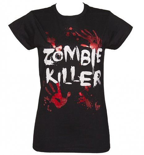 Ladies Zombie Killer T-Shirt : Main