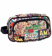 Marvel Comics Characters Wash Bag