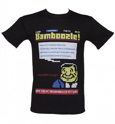 Men's Bamboozle Teletext T-Shirt : Main