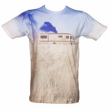 Men's Breaking Bad Trailer Sublimation T-Shirt