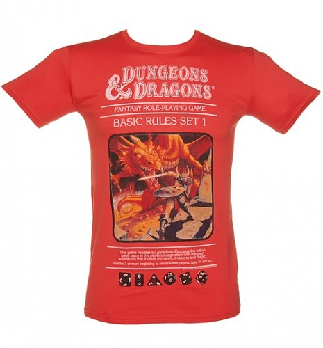 Men's Dungeons and Dragons T-Shirt : Main