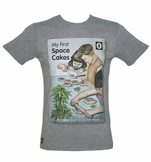 Men's Grey My First Space Cakes T-Shirt from Chunk