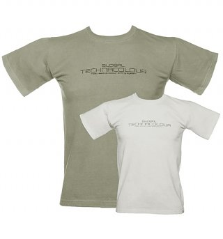 Unisex Grey To White Heat Sensitive T-Shirt from Global Technacolour