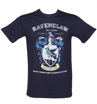 Men's Navy Harry Potter Ravenclaw Team Quidditch T-Shirt