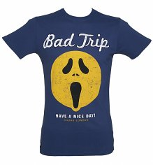 Men's Navy Have A Nice Day Bad Trip T-Shirt from Chunk