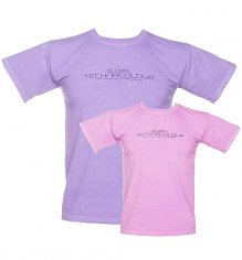 Unisex Purple To Pink Heat Sensitive T-Shirt from Global Technacolour