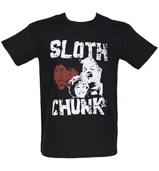 Men's Sloth Loves Chunk Goonies T-Shirt