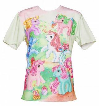 Unisex My Little Pony Vintage Scene T-Shirt
