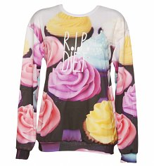 R.I.P Diet All Over Print Cupcake Sweater from Mr Gugu & Miss Go