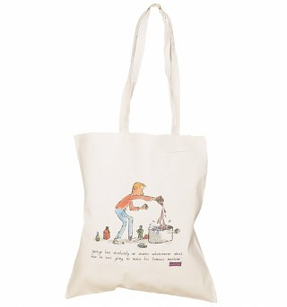 Roald Dahl George's Marvellous Medicine Canvas Tote Bag