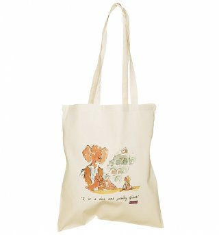 Roald Dahl The BFG Quote Canvas Tote Bag