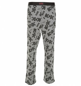 AC/DC All Over Print Lounge Pants