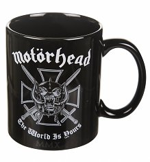 Black Motorhead The World Is Yours Mug