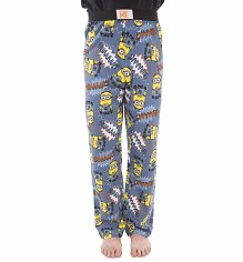 Blue Minions WHAAAA All Over Print Lounge Pants
