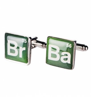 Breaking Bad Logo Cufflinks