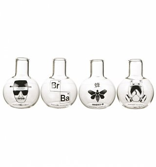 Breaking Bad Test Tube Shot Glasses Set