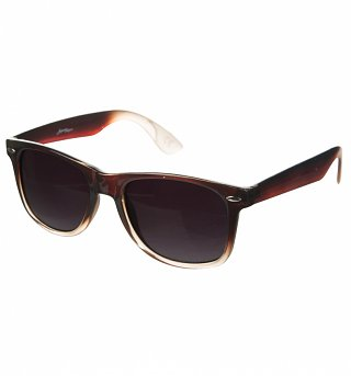 Brown Ombre Wayfarer Sunglasses from Jeepers Peepers