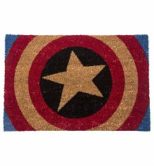 Captain America Shield Door Mat