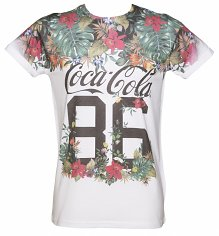 Coca-Cola Jungle Sublimation Print T-Shirt from Retro Fred's