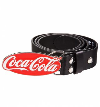 Coca-Cola Logo Belt And Buckle
