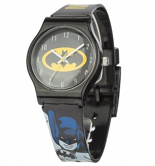 DC Comics Batman Logo Quartz Watch