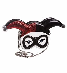DC Comics Harley Quinn Masked Menace Cross Body Bag