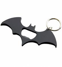 DC Comics Matt Black Batman Logo Multi Tool Keyring