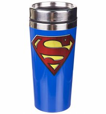 DC Comics Superman Logo Travel mug