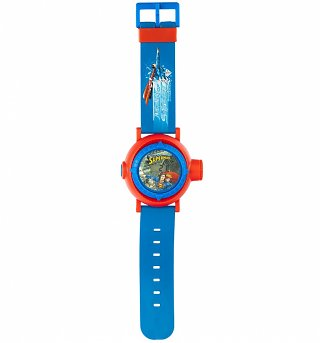 DC Comics Superman Multi Projection LCD Watch