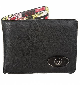 DC Comics The Flash Embossed Inside Comic Print Wallet