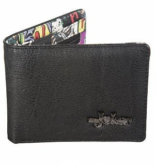 DC Comics The Joker Embossed Inside Comic Print Wallet