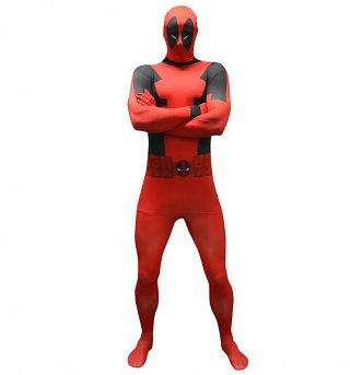 Deadpool Marvel Comics Morphsuit