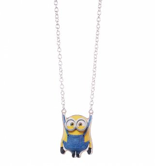 Despicable Me Enamel Bob Hanging Minions Necklace