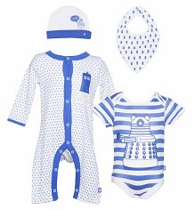 Doctor Who Babywear Set